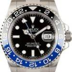 "Rolex ""Batman"" GMT Master"