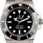 "Rolex ""No Date"" Stainless Submariner"