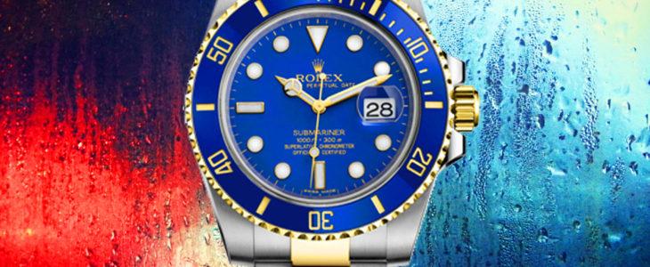 Rolex Blue Submariner