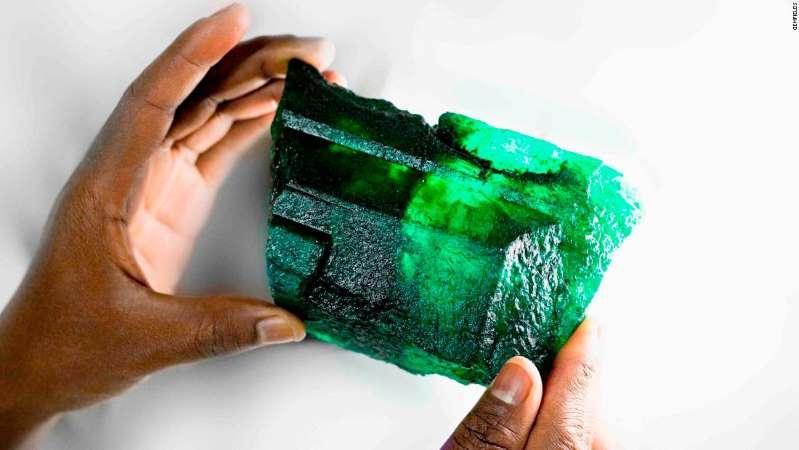 5,655 carat zambian emerald