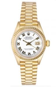 Ladies Rolex 18K Gold President