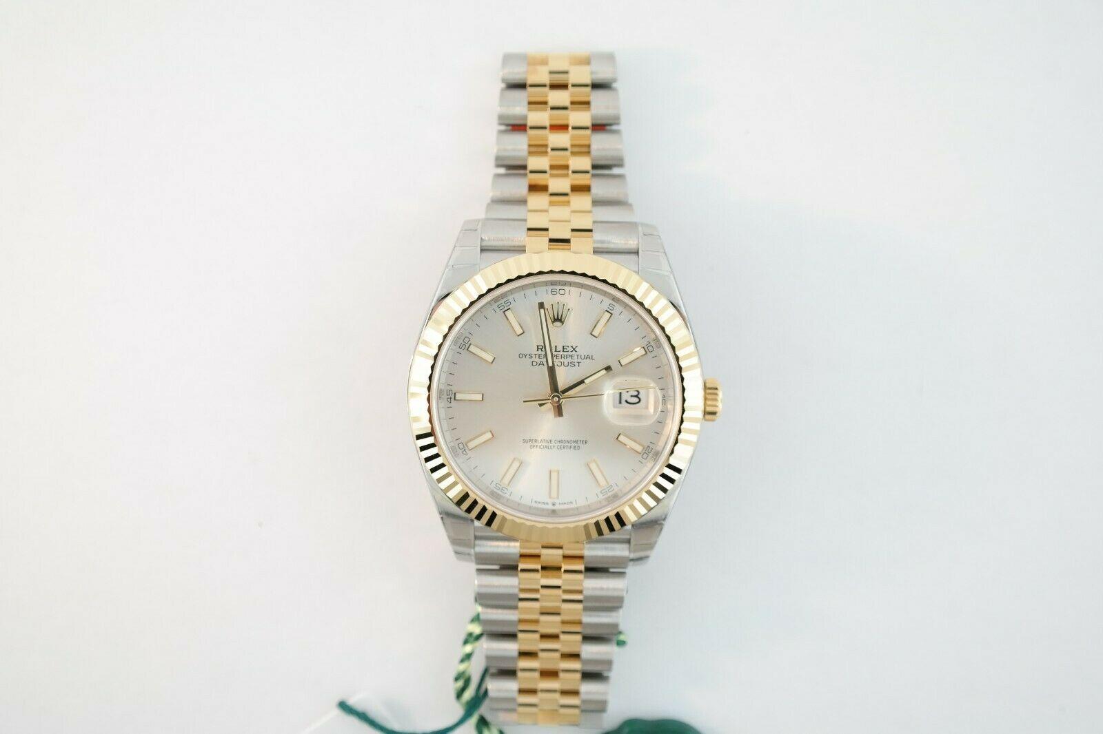 Men's Rolex Datejust 41 Two Tone