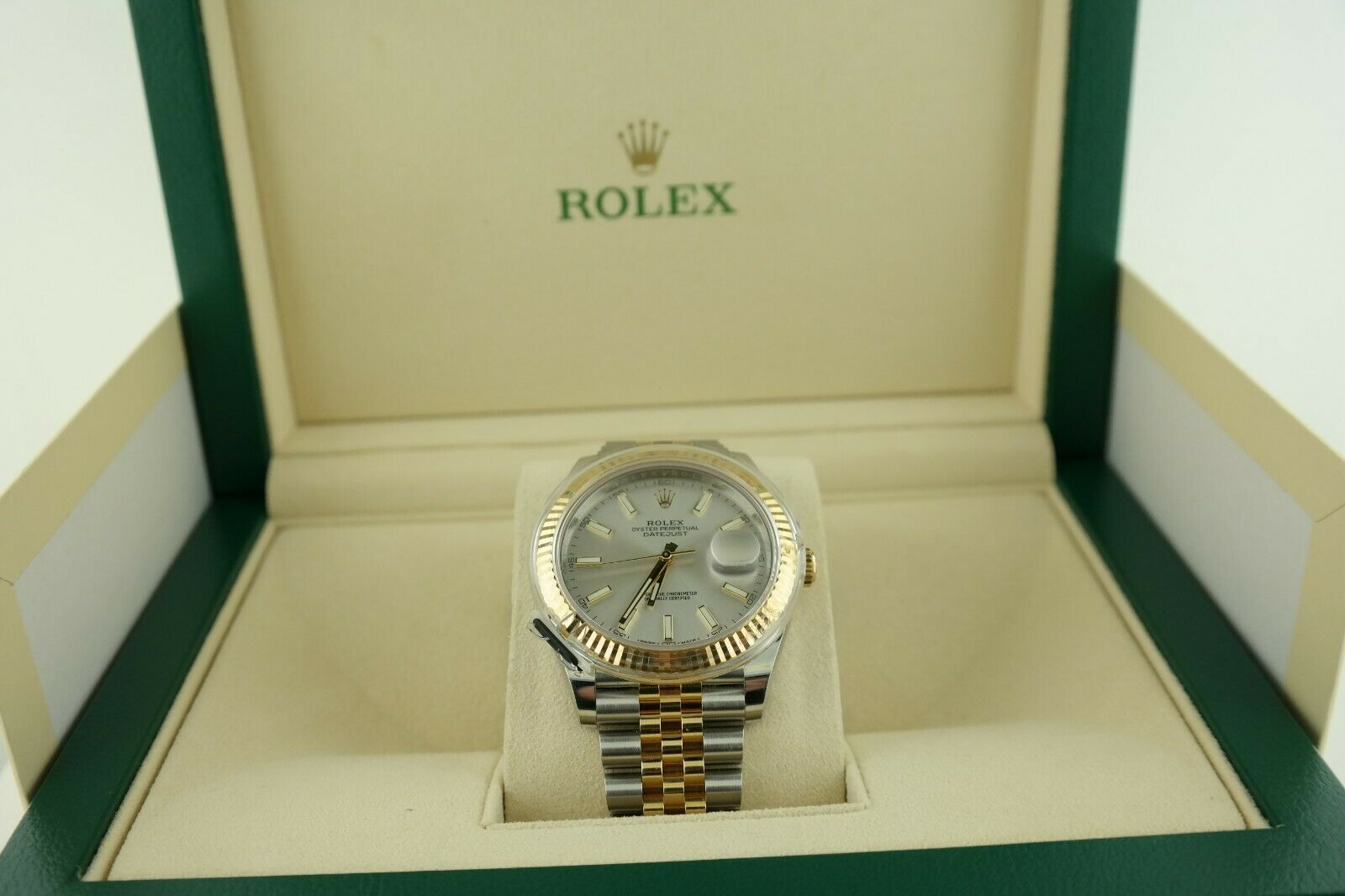 Men's Rolex Datejust 41 2 tone