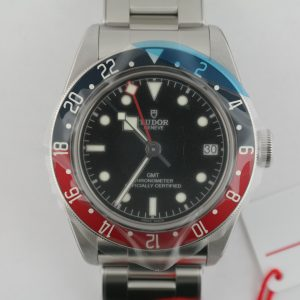 "Tudor Black Bay Heritage GMT 79830RB ""Pepsi"" Stainless Steel Year 2020 Unworn"