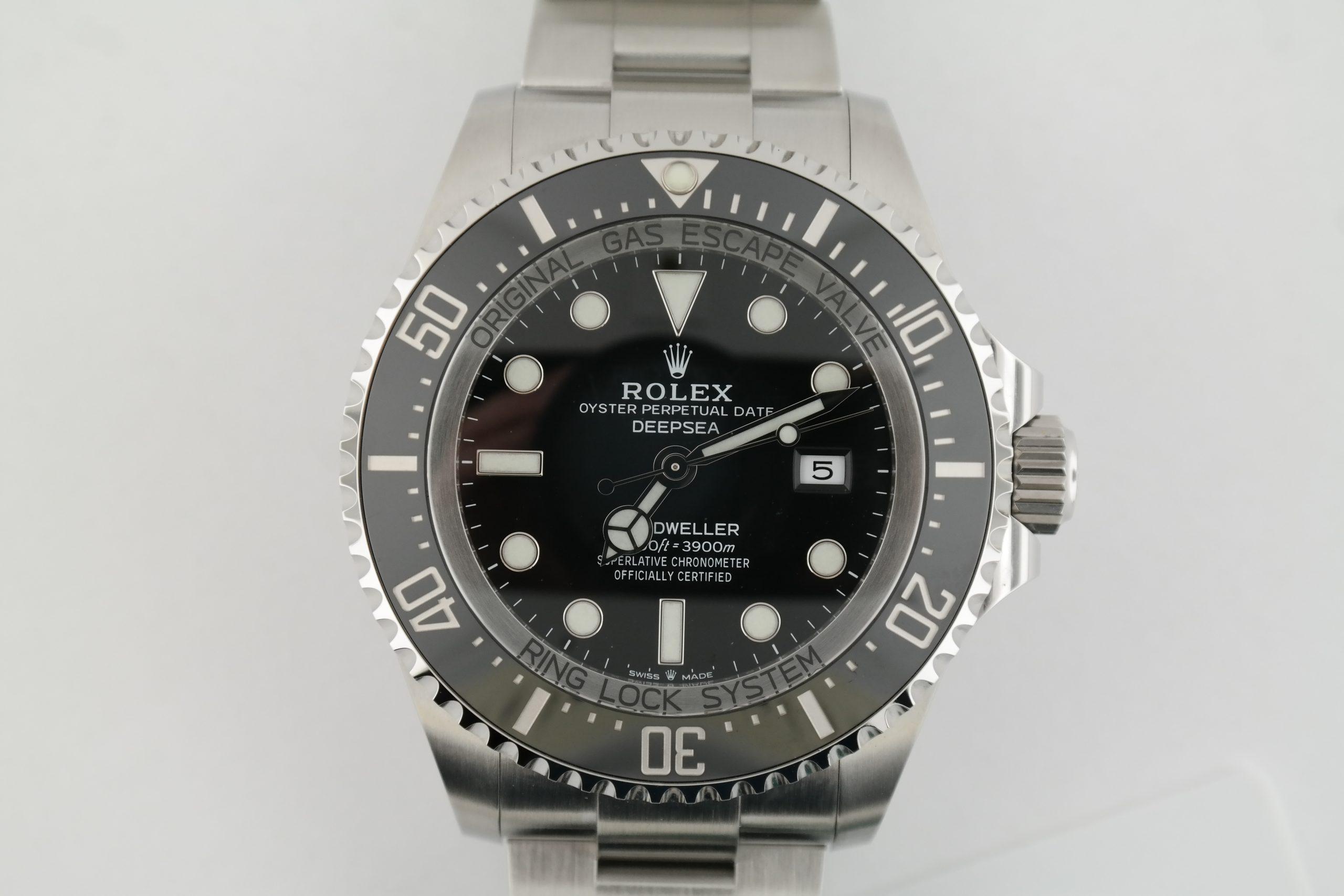 Rolex Sea-Dweller Deepsea 126660 Black Ceramic Bezel & Dial Oyster Band 2020