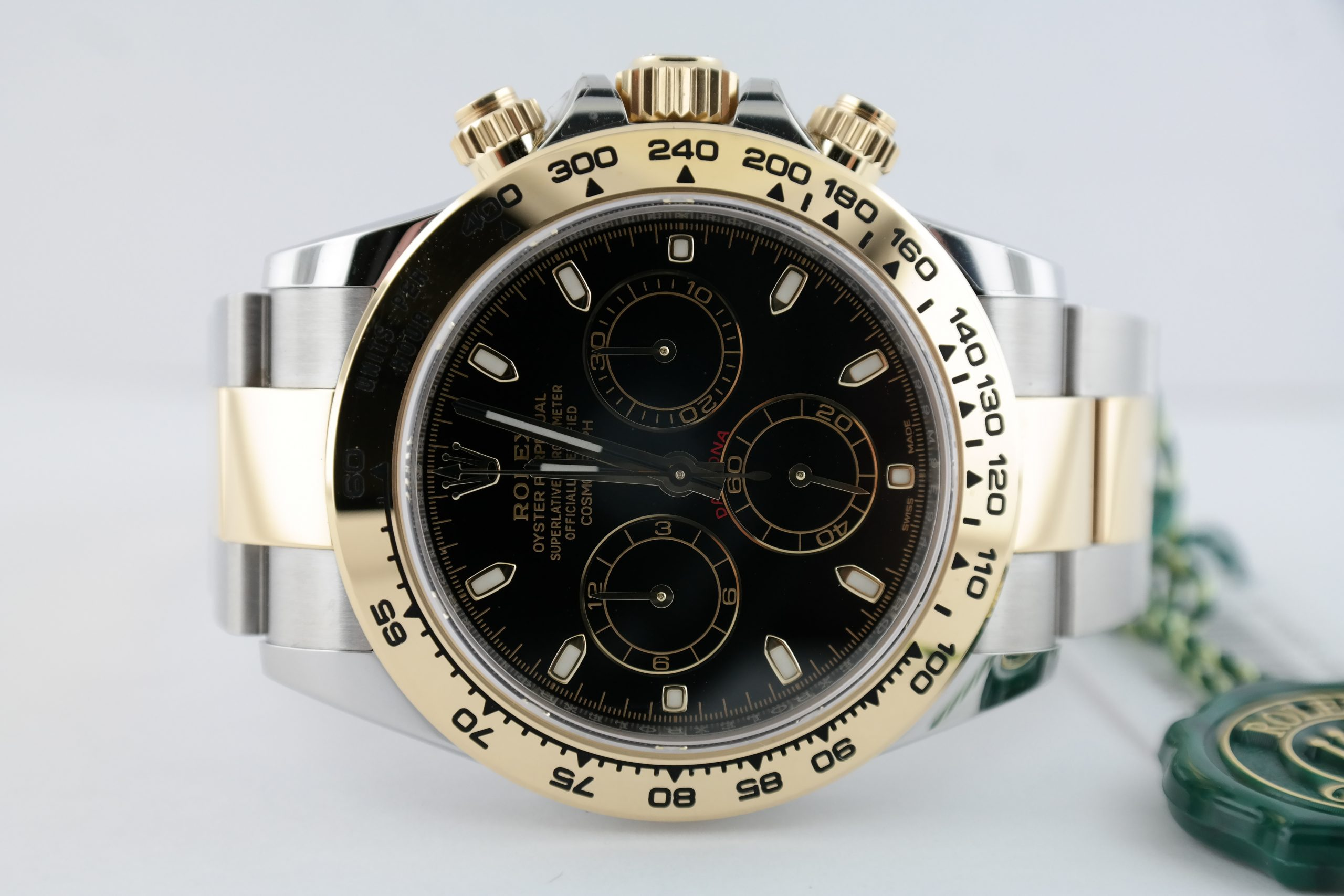 Men's Rolex Daytona 116503 Two-Tone Black Dial Oyster Band Box & Papers 2020