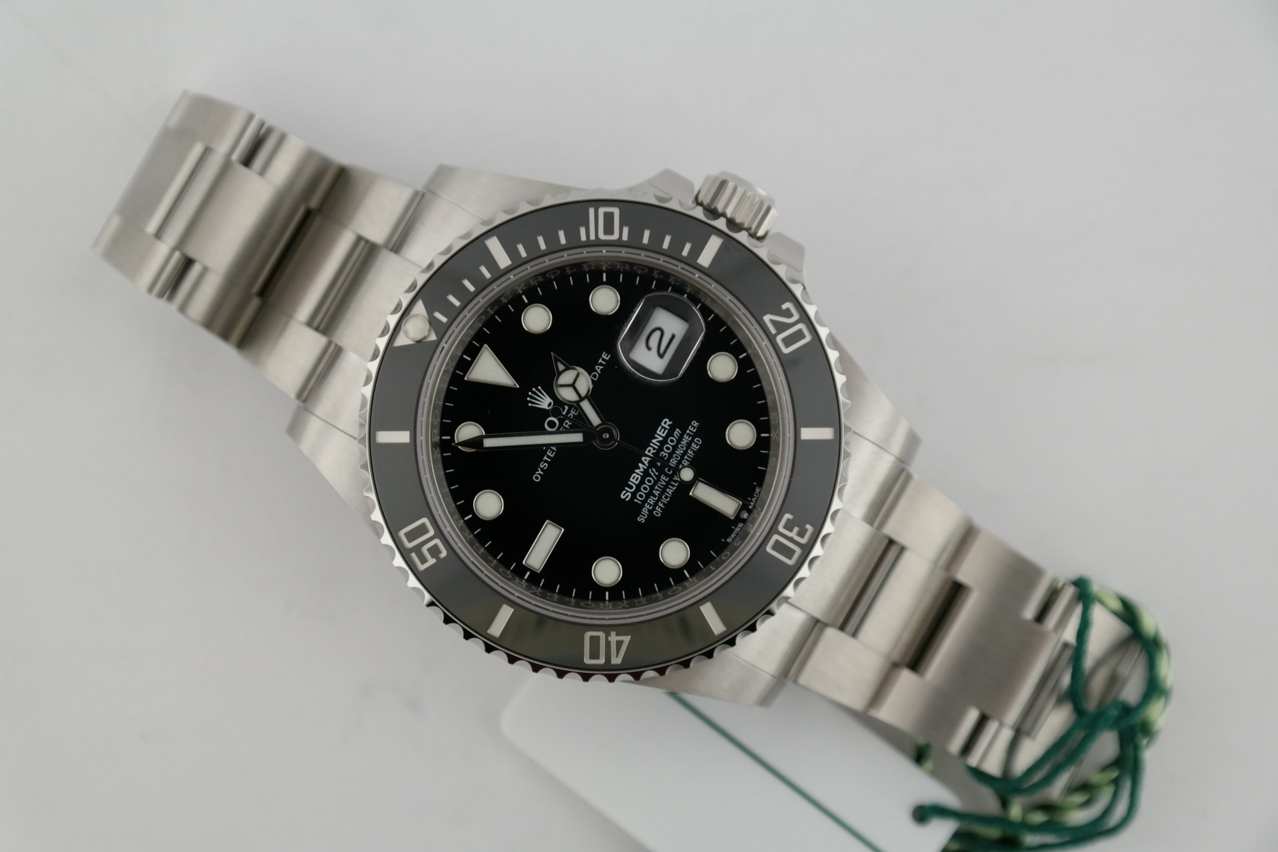 Rolex Submariner 126610LN 41mm Stainless Steel Black Ceramic Dial & Bezel 2020