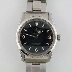 "Vintage Rolex Explorer 1016 ""Stretchy"" Rivet Oyster Band Black Dial Circa 1967"
