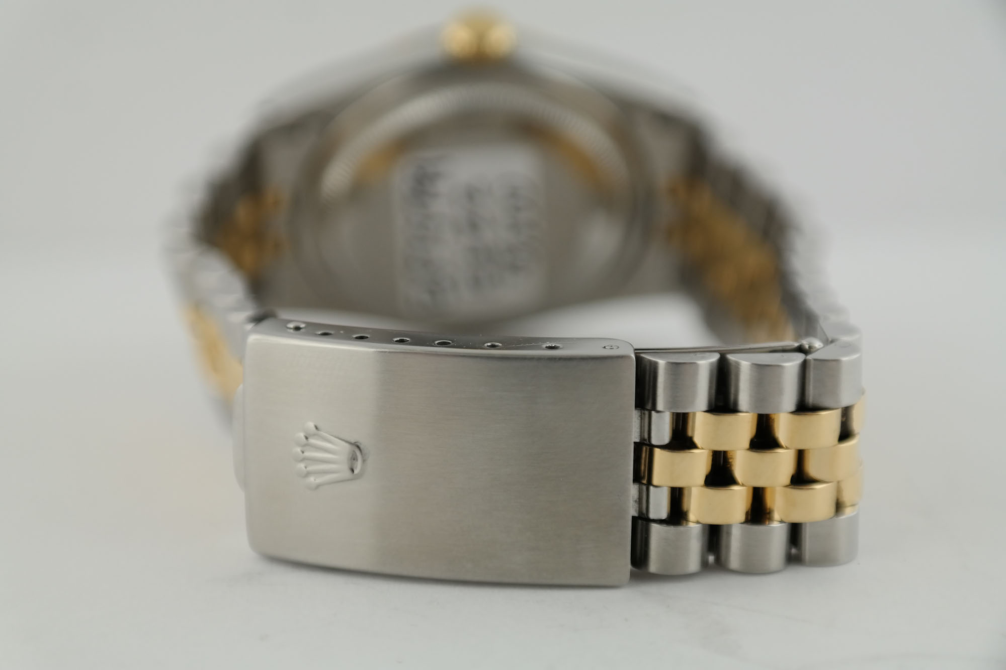 Rolex Datejust 16233 Champagne Diamond Dial Jubilee Band 36mm Two-Tone Year 1990